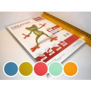 БУМАГА CREATIVE color интенсив 80гр А4 (100л.) 5 цв.